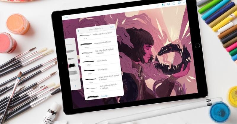 Trải nghiệm vẽ tuyệt hảo với app Adobe Draw và Sketch!
