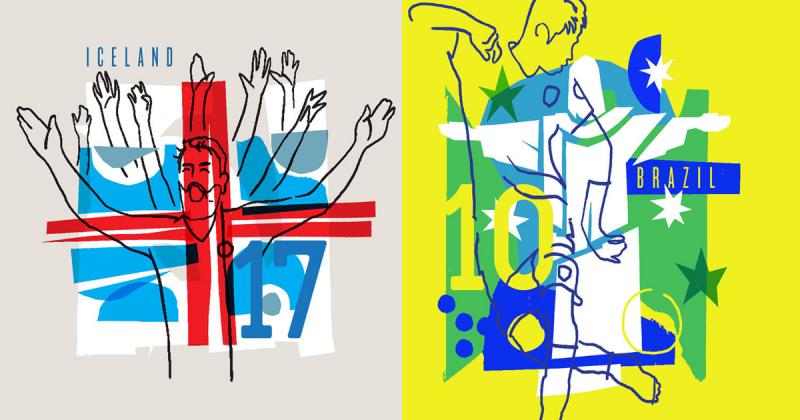 Cùng nhìn lại 10 dự án nghệ thuật, thiết kế đặc sắc của FIFA World Cup 2018