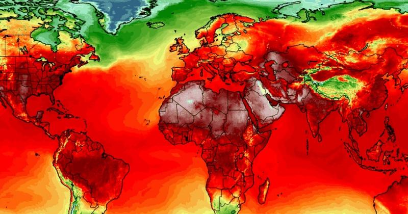Chúng ta vừa sống sót qua một tuần nắng nóng kỷ lục trên toàn thế giới