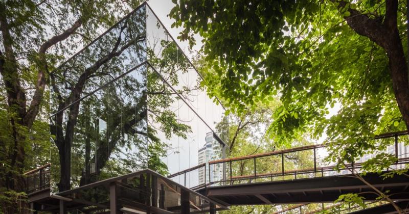 Naiipa - Khu phức hợp nghệ thuật BangKok ẩn dật giữa rừng cây