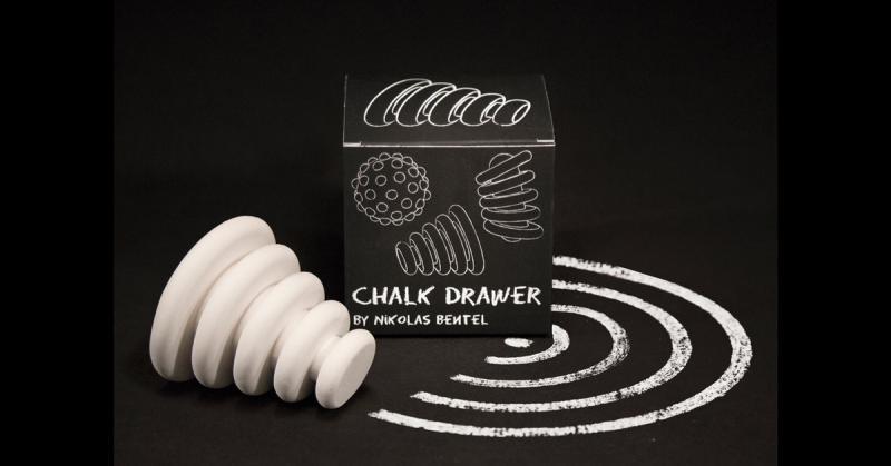 Cùng chơi đùa với những viên phấn Chalk Drawers có hình thù kỳ lạ