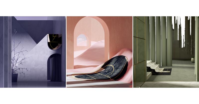 Luster - Bộ thảm trải sàn đầy tính nghệ thuật