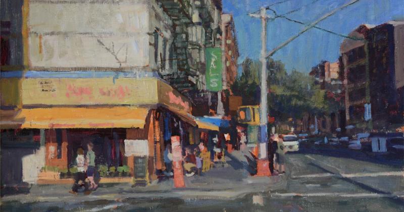 Nghệ sĩ của tuần: Jim Beckner chộp lại những khoảnh khắc phố thị