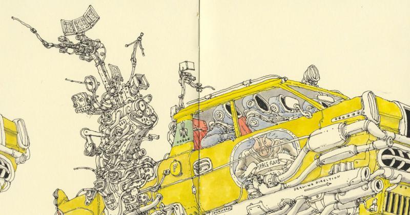 Nghệ sĩ của tuần: Mattias Adolfsson với những câu chuyện xoắn xuýt