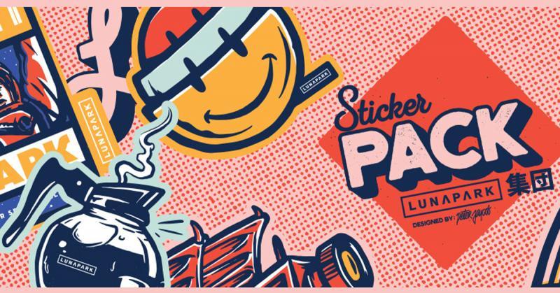 Ngắm nhìn những sticker hầm hố màu sắc từ Piotr Jakubowski