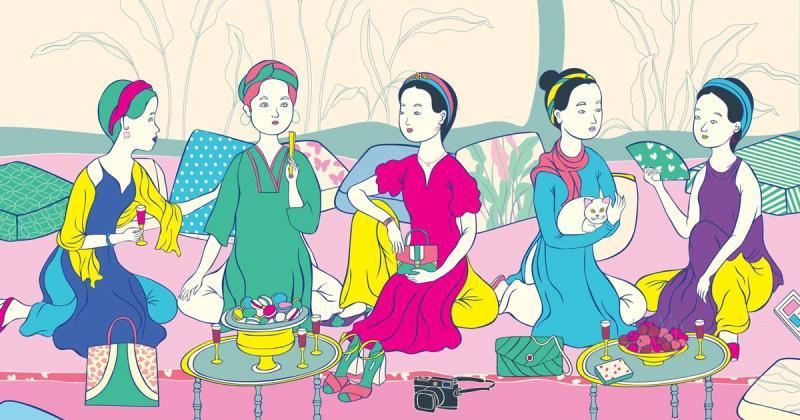 Dự án cảm tác tranh cố danh hoạ Mai Trung Thứ của Nguyễn Ngọc Vũ