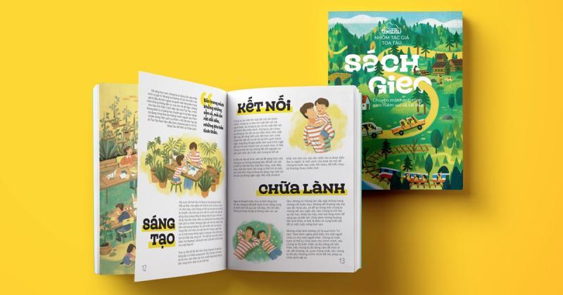 Sách Gieo - Chuyện một hành trình gieo niềm vui và cái đẹp