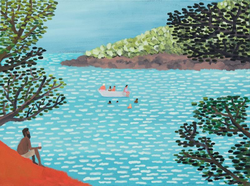 Nghệ sĩ của tuần: Jean Jullien -  Tái hiện lại ký ức tuổi thơ mùa hè