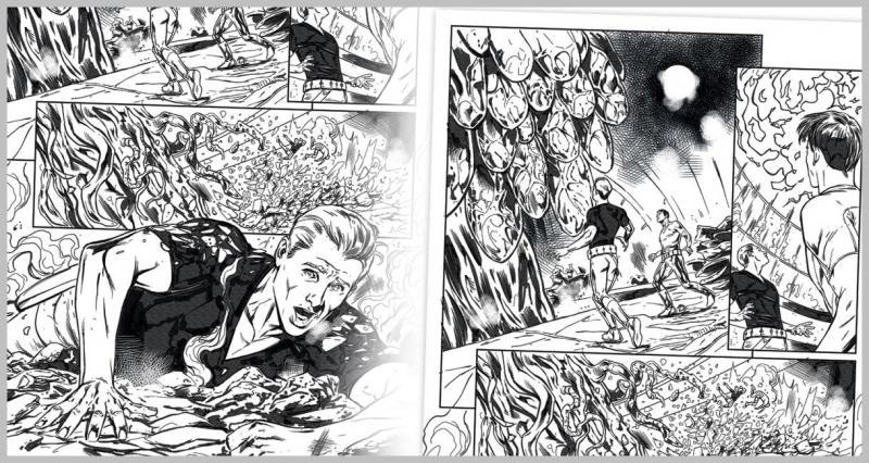 Hướng dẫn từng bước vẽ nên trang truyện tranh hấp dẫn    Phần 1: Phác thảo sơ bộ