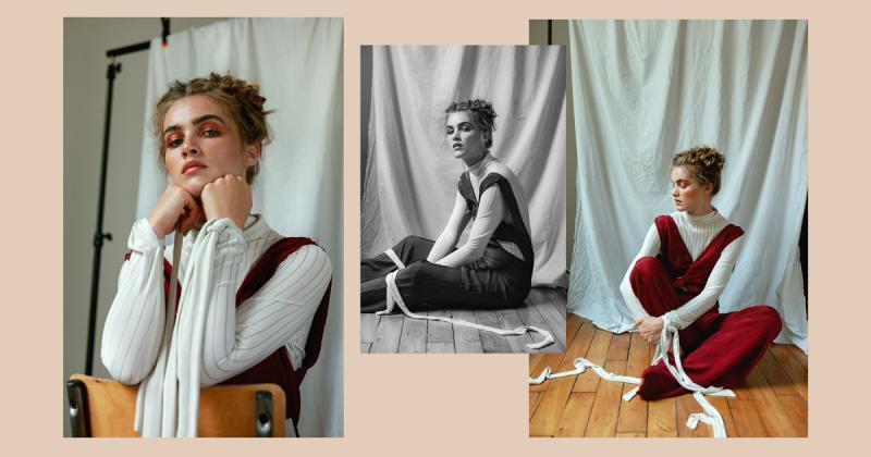 Bộ ảnh chụp thời trang với sắc đỏ quyến rũ của Marion Midnight