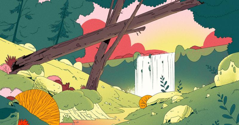Nghệ sĩ của tuần: Vivien Bertin và loạt tranh phong cảnh từ thế giới tưởng tượng