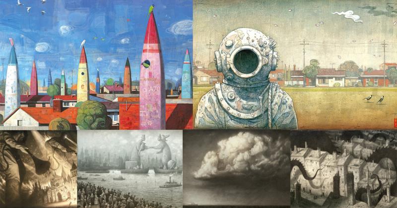 Ngắm nhìn thế giới sáng tạo đa hình hài của Shaun Tan qua tranh vẽ và diễn giải ngắn