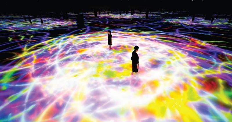 Body Immersive từ Teamlab mang đến những cảm xúc vượt không gian