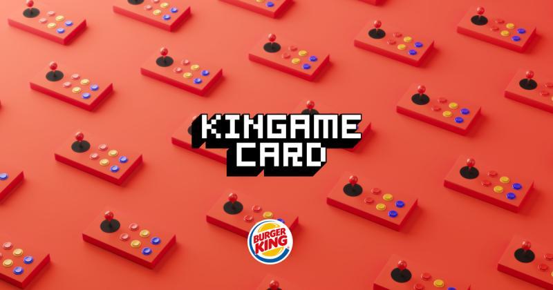 Game Kincard - Trò chơi Burger King mang đến cho khách hàng Ý