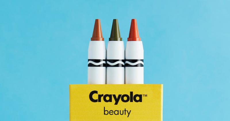 Dùng sáp màu Crayola để trang điểm, tại sao không?