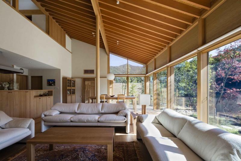 Căn nhà ở Nhật Bản mang đậm tinh thần trà đạo
