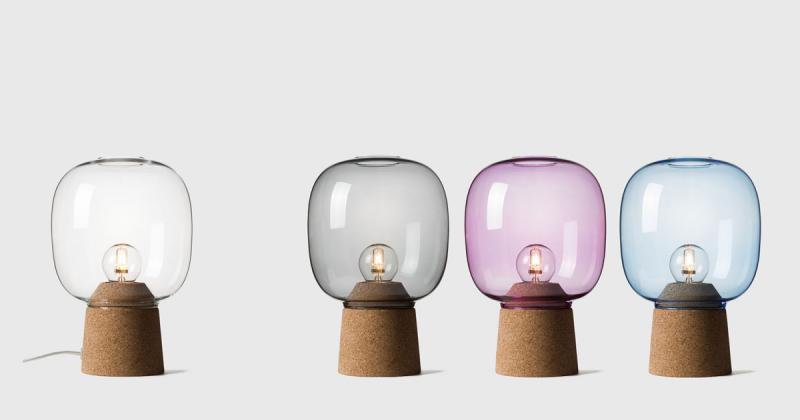 Picia - Bộ đèn kết hợp lạ kỳ giữa chất liệu bấc và thuỷ tinh