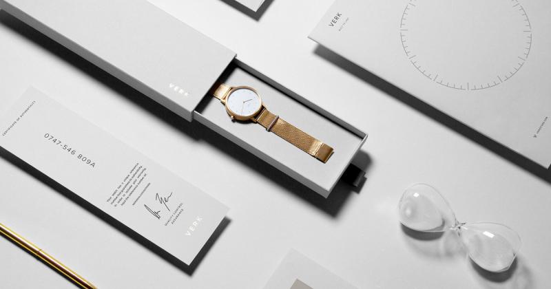 Verk - Thương hiệu đồng hồ ấn tượng với bao bì tinh tế mạnh mẽ