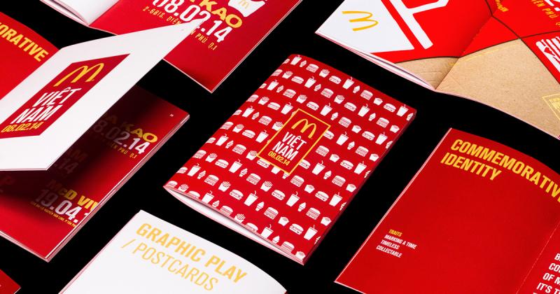 Rice Creative thiết kế bộ nhận diện cho McDonald's nhân dịp ra mắt tại Việt Nam