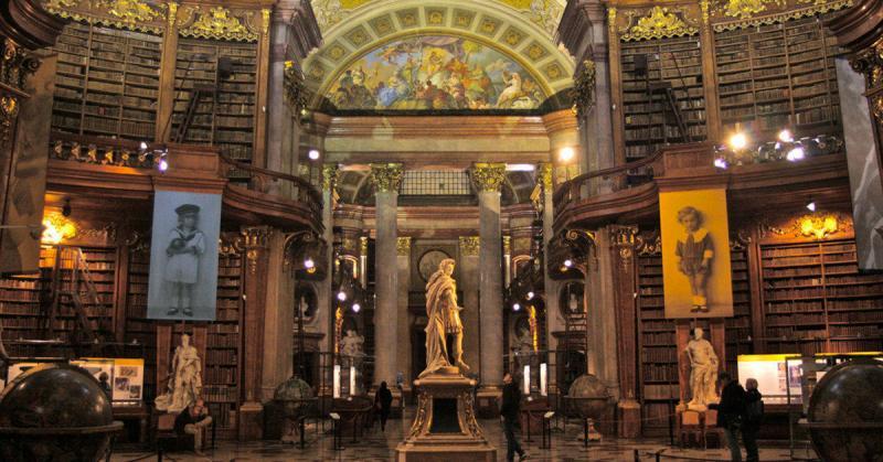 Thư viện Quốc gia Áo - thư viện chứa nhiều bộ sưu tập giá trị thế giới