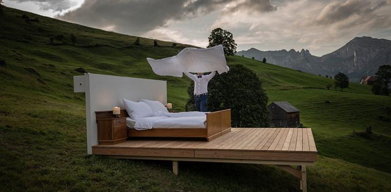 Chào mừng bạn đến với phòng ngủ trơ trọi tại Thụy Sĩ