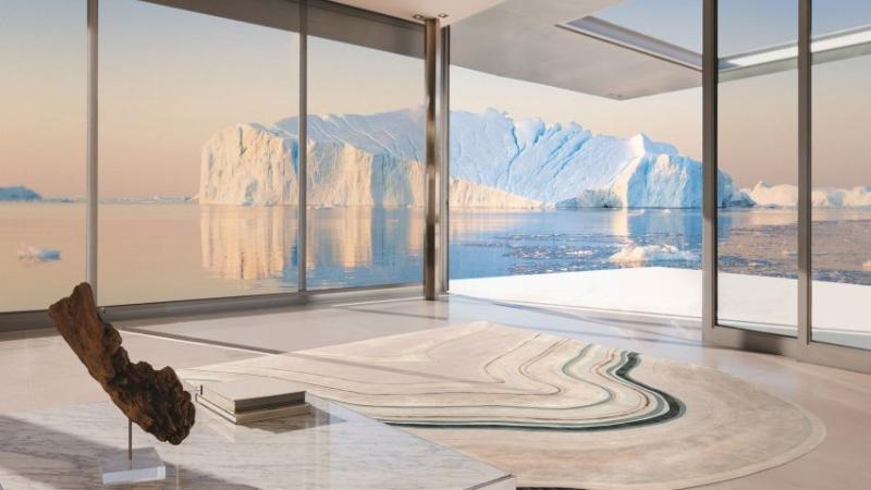 Cập nhật biến đổi khí hậu qua bộ sưu tập thiết kế thảm trải sàn