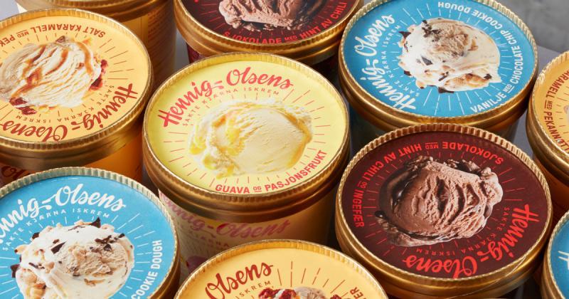 Bao bì hoài cổ cho xưởng kem đầu tiên tại Na-uy