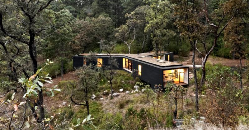 Casa de la Roca - Căn nhà ẩn mình giữa núi rừng Mexico