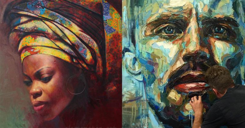 7 nghệ sĩ nổi bật đang định hình lại nghệ thuật vẽ tranh chân dung (P2)