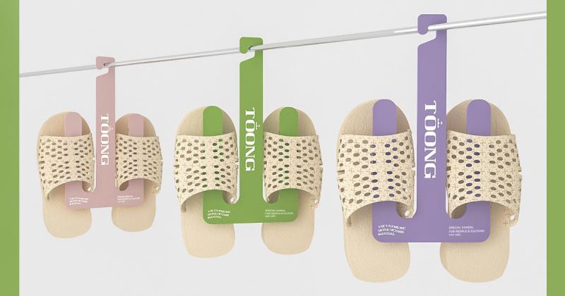 Dự án thiết kế đưa Dép tổ ong trở lại giới thời trang sành điệu