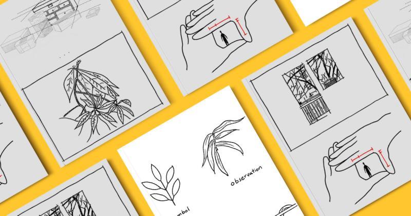 5 bài tập vẽ giúp bạn phân biệt sự khác nhau giữa quan sát và tư duy