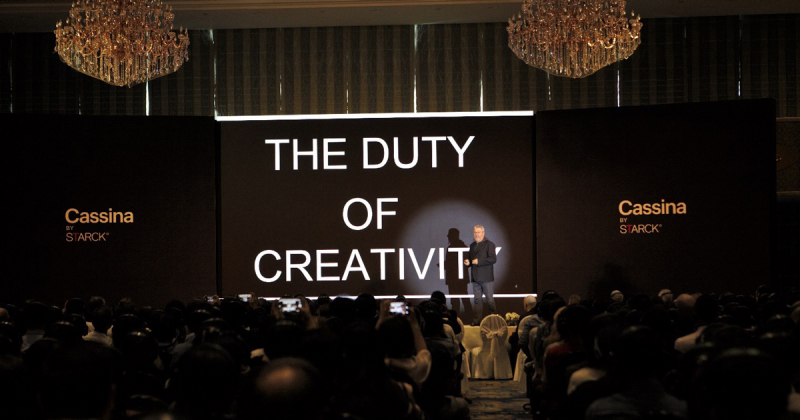 """Philippe Starck chia sẻ về """"Thiết kế dân chủ""""qua hội thảo Eurasia Design Talk #7"""