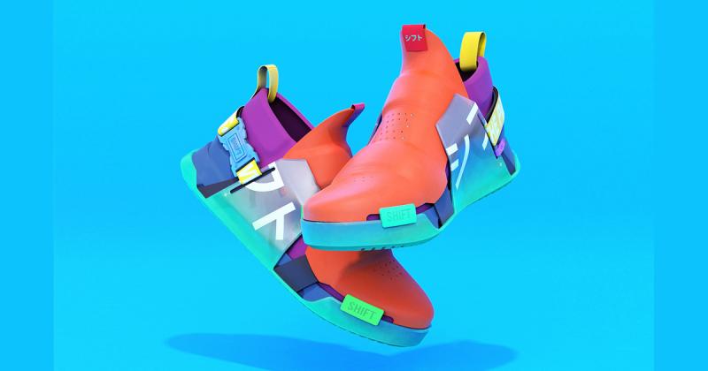 Chiếc giày theo phong cách Deconstructivism của thời hiện đại