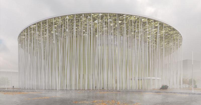 """Nhà hát Wuxi Show - Bồng bềnh giữa khu """"rừng tre"""" kỳ ảo"""