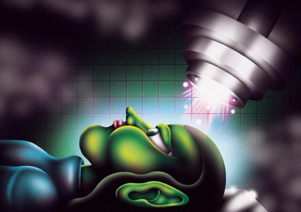 Họa sĩ ẩn dật Derek Ercolano & những bức vẽ đồ họa siêu thực