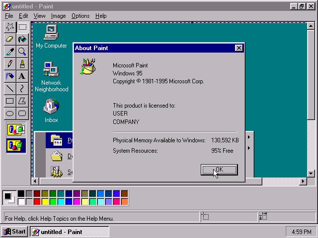 Microsoft Paint. Cảm Ơn Người Bạn Thời Thơ Ấu!