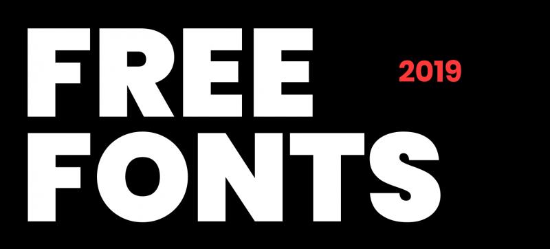 30 font chữ miễn phí tuyệt vời cho năm 2019