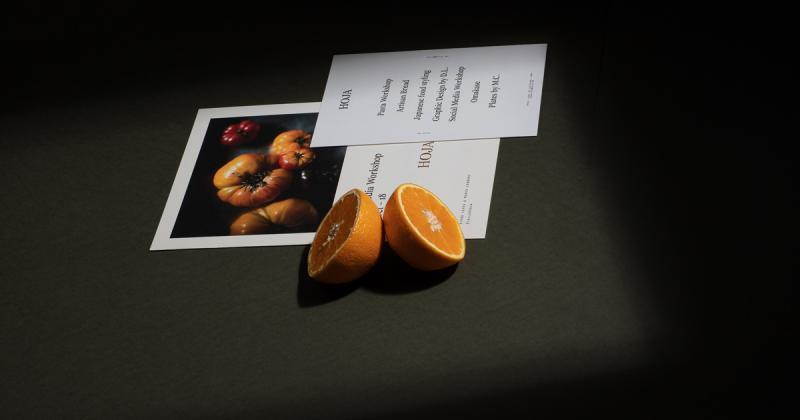 Hoja - bộ nhận diện cho agency sáng tạo chuyên về khuynh hướng ẩm thực