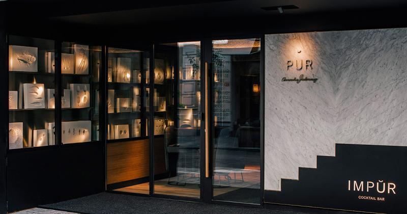 """Pur/Impur - Nhà hàng cao cấp với sự đối nghịch giữa """"thiên đường"""" và """"địa ngục"""""""