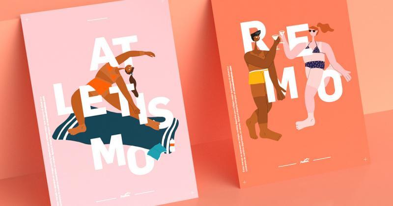 Bộ hình minh họa cho Olympic: Những vận động viên với làn da rám nắng