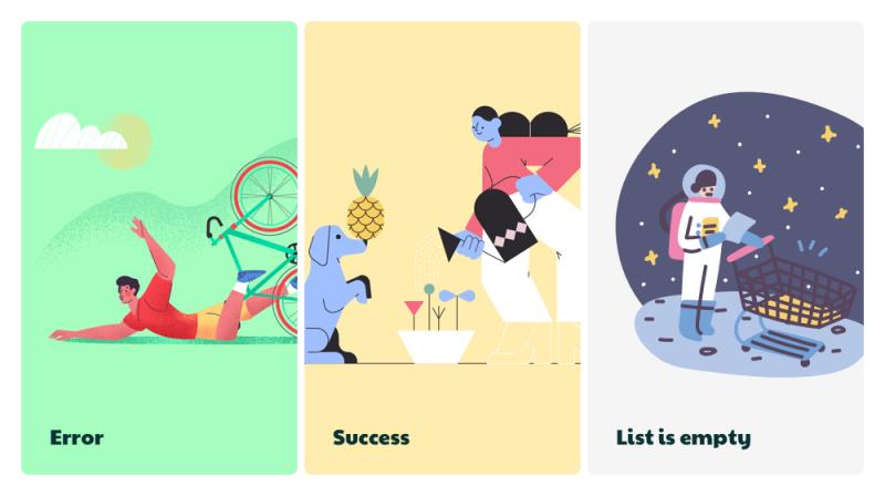 Website cung cấp hình minh họa miễn phí cho UI/UX designers
