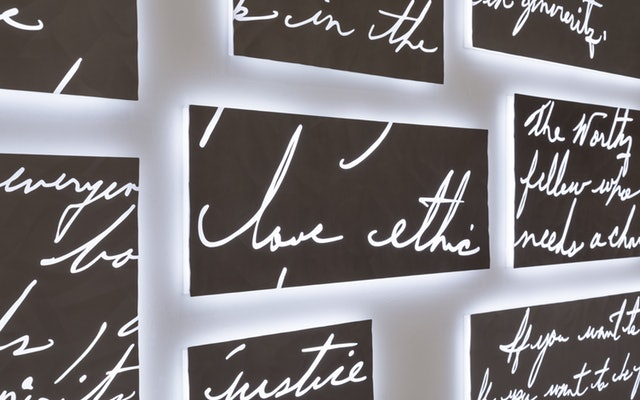 Fragment: Triển lãm sắp đặt kỉ niệm Martin Luther King