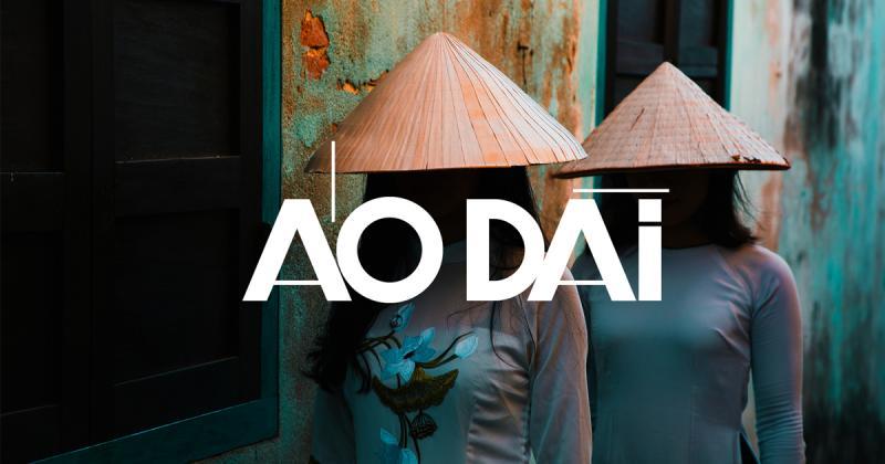 Aodai - Typeface mang nét quyến rũ thầm kín của người phụ nữ Đông Dương