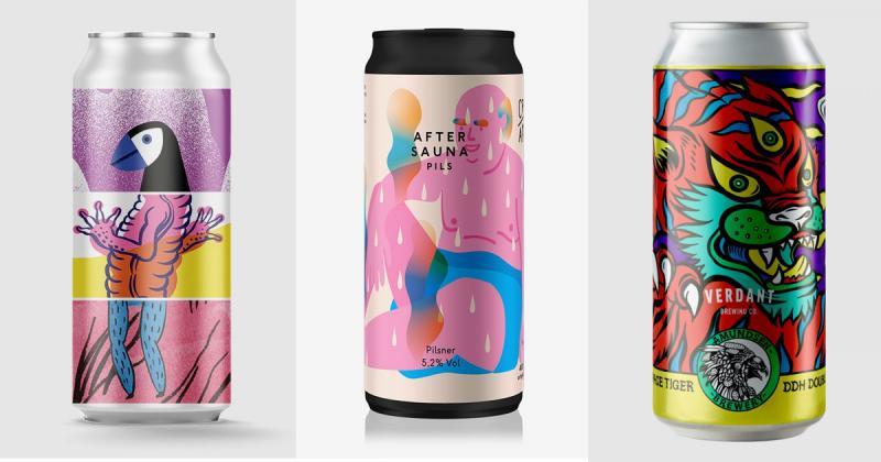 Tổng hợp thiết kế vỏ lon bia nổi bật nhất năm 2018 (P1)