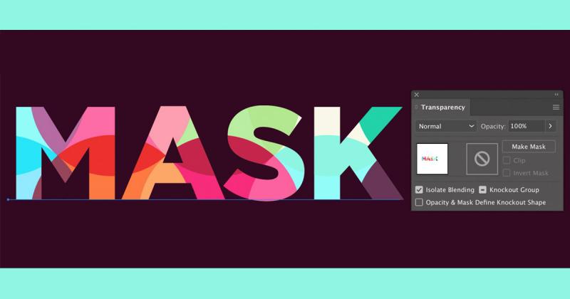 Hướng dẫn tạo Pattern đầy màu sắc cho letter trong Illustrator