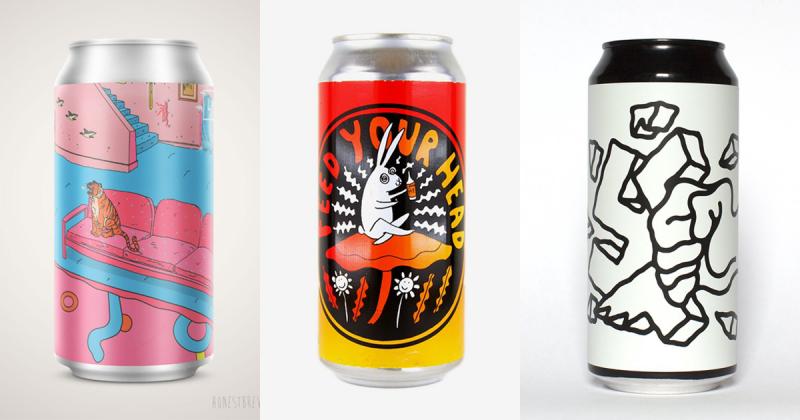 Tổng hợp thiết kế vỏ lon bia nổi bật nhất năm 2018 (P2)