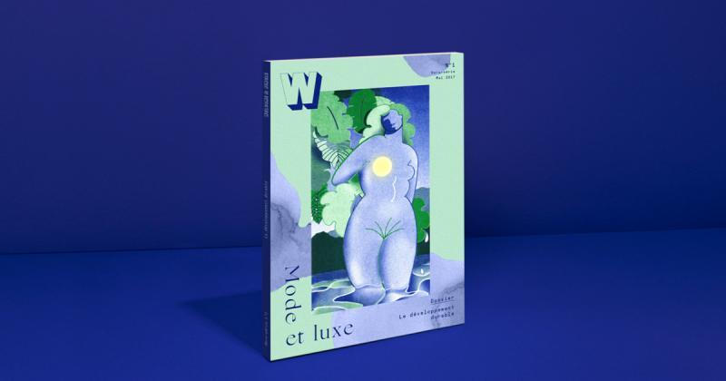 W - Cuốn sách cung cấp thông tin ngành nghề với lối thiết kế trừu tượng đẹp mắt