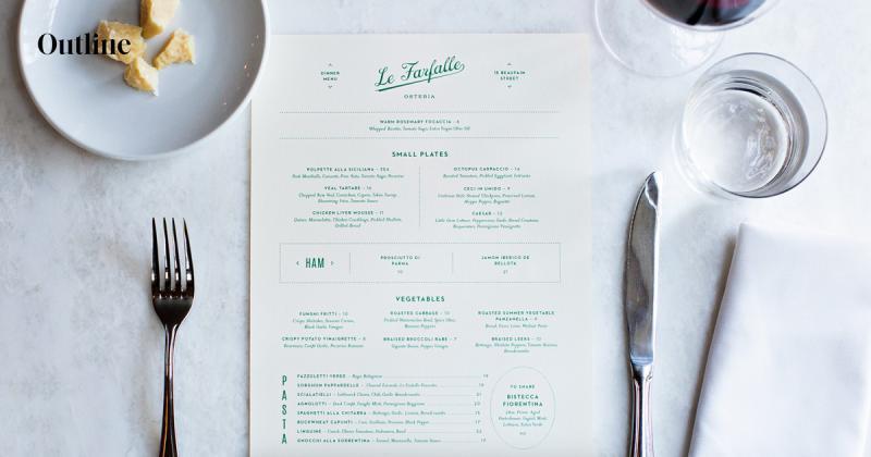 Le Farfalle - Nhà hàng Ý thanh lịch ẩn mình giữa cây lá