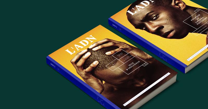 Ngắm nhìn thiết kế lạ lẫm của tạp chí L'ADN kết nối nhiều chủ đề trong đời sống