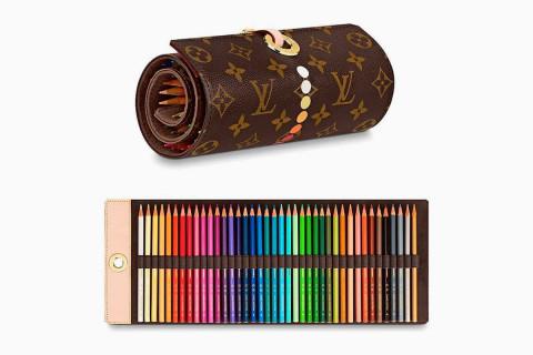 Louis Vuitton vừa ra mắt bộ bút chì màu trị giá 900$
